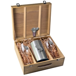 Alligator Wine Set w/ Box