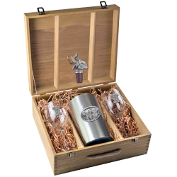 Elephant Wine Set w/ Box