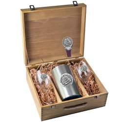 East Carolina University Wine Set w/ Box