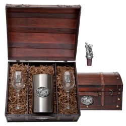 Black Bear Wine Set w/ Box
