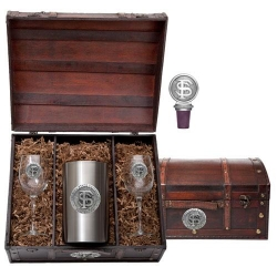 Florida State University Wine Set w/ Chest