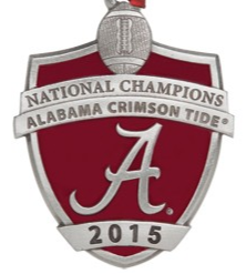 2015 CFP National Champions University of Alabama