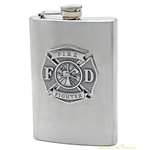 Flask - Stainless Steel 8oz
