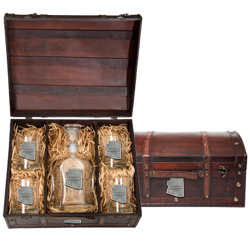 Capitol Decanter Box & Chest Gift Sets