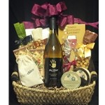 $75 Wine Gift Basket - White Wine