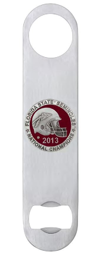 2013 BCS National Champions Florida State Seminoles Bottle Opener - Enameled