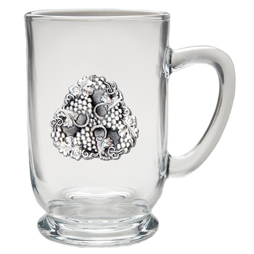 Grapes Clear Coffee Cup