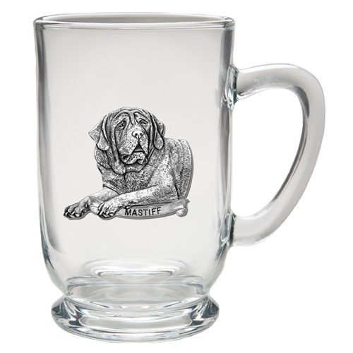 Mastiff Clear Coffee Cup