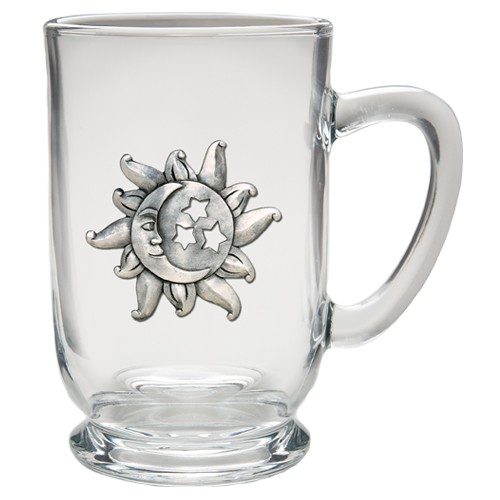 Celestial Clear Coffee Cup