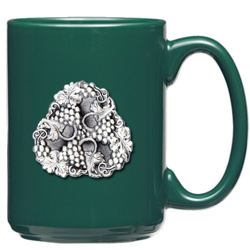 Grapes Green Coffee Cup