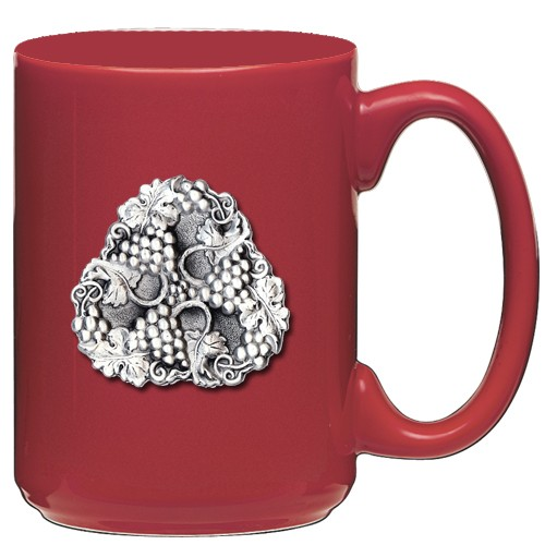 Grapes Red Coffee Cup