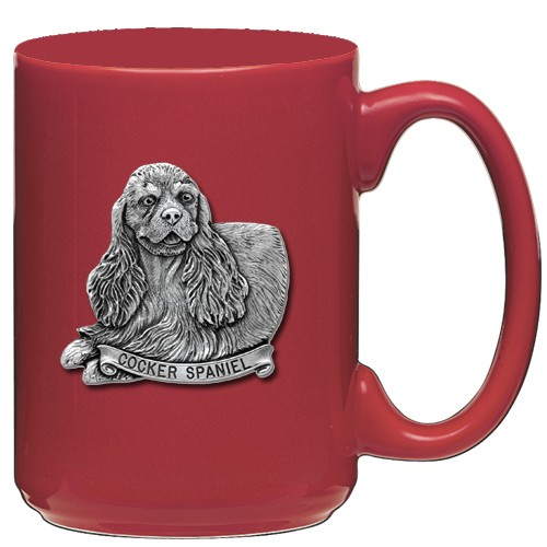 Cocker Spaniel Red Coffee Cup