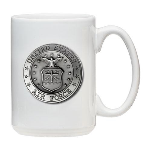 Air Force White Coffee Cup
