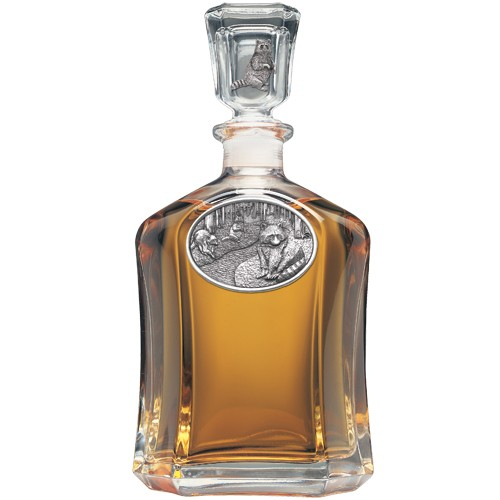 Racoon Capitol Decanter