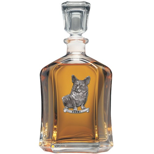 Corgi Capitol Decanter