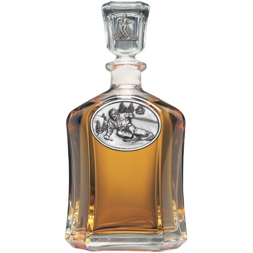 Skier Capitol Decanter