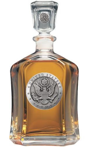 Army Capitol Decanter