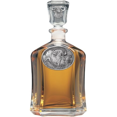 Cape Buffalo Capitol Decanter