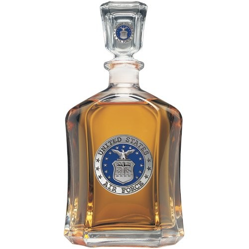 Air Force Capitol Decanter - Enameled
