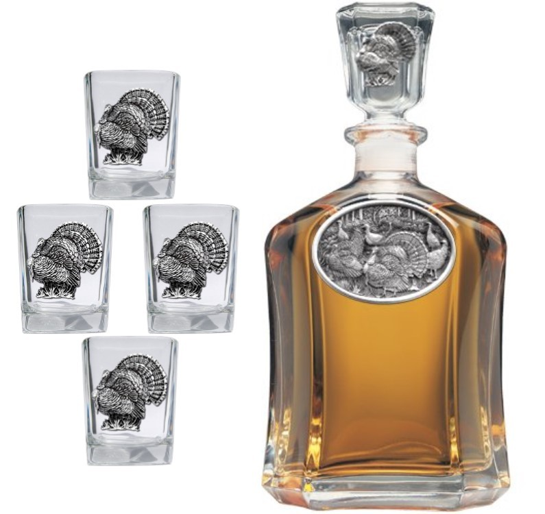 Turkey Capitol Decanter Set