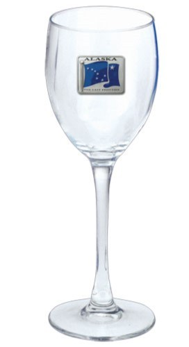 Alaska Wine Glass - Enameled