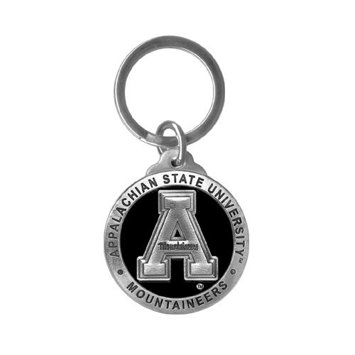 Appalachian State University Key Chain - Enameled