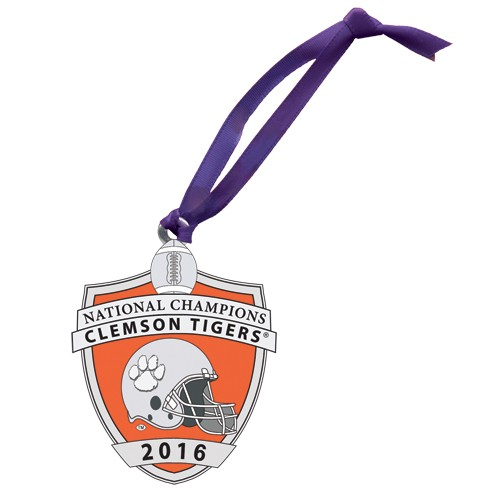 2016 CFP National Champions Clemson Tigers Ornament - Enameled