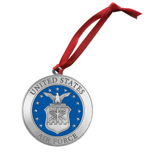 Air Force Ornament - Enameled