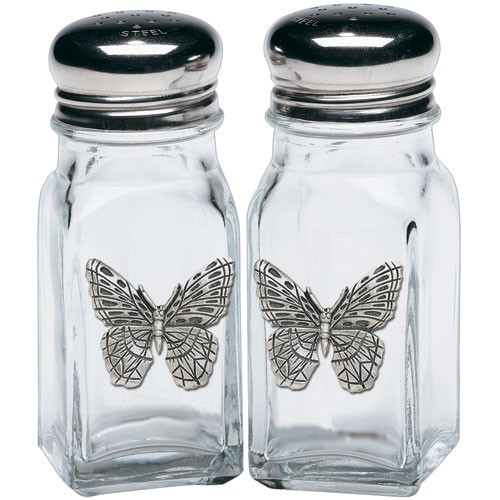 Butterfly Salt and Pepper Shaker Set