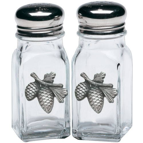 Pine Cone Salt and Pepper Shaker Set