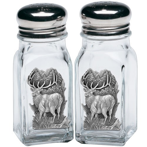 Elk Salt and Pepper Shaker Set