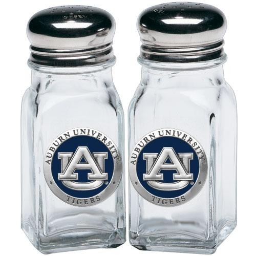 Auburn University Salt and Pepper Shaker Set - Enameled