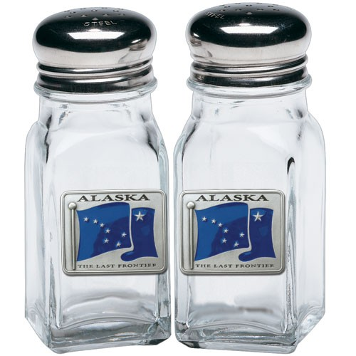 Alaska Salt and Pepper Shaker Set - Enameled