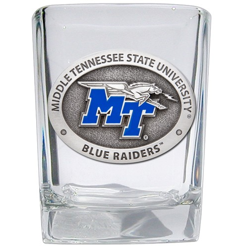 Middle Tennessee State University Square Shot Glass - Enameled