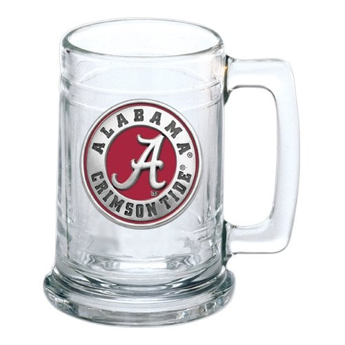 "Alabama ""A"" Crimson Tide Stein - Enameled"