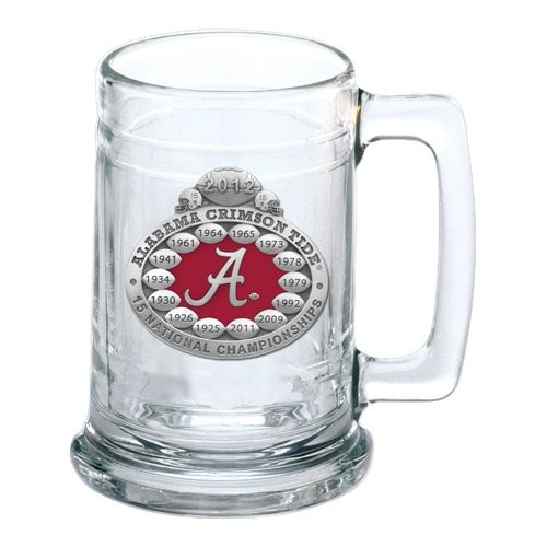 2012 BCS National Champions Alabama Crimson Tide Stein - Enameled