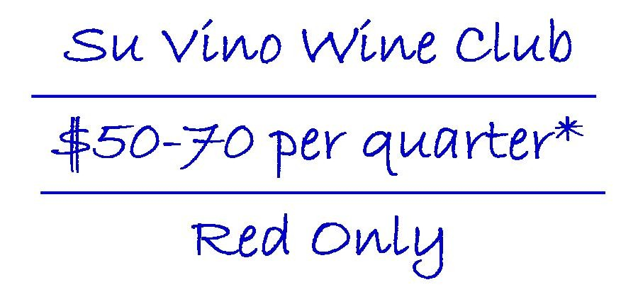 Su Vino Wine Club - Red Only