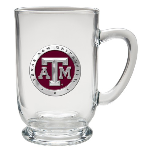 Texas A&M University Clear Coffee Cup - Enameled