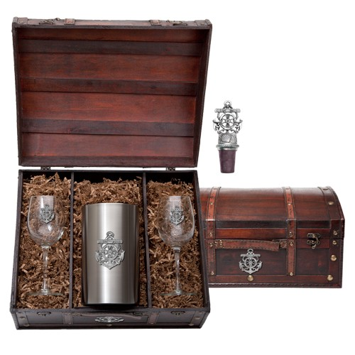 Anchor Wine Set w/ Chest