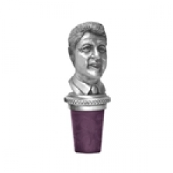 42nd US President Bill Clinton Bottle Stopper