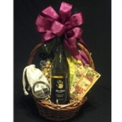 $35 Wine Gift Basket - White Wine
