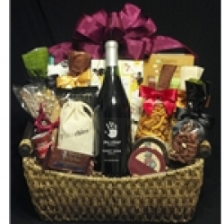 $102.50 Wine Gift Basket - Red Wine