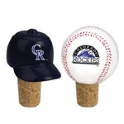Colorado Rockies Team Bottle Cork Set