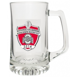 2014 BCS National Champions Ohio State Buckeyes Super Stein - Enameled