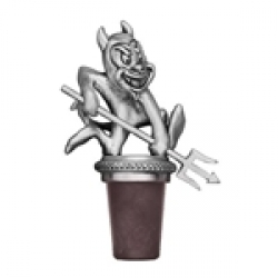 "ASU Sun Devils ""Sparky"" Pewter Bottle Stopper"