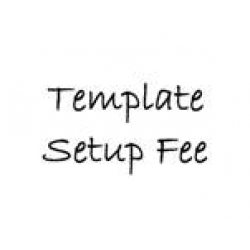 Template Setup Fee