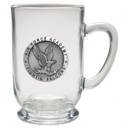 Air Force Academy Clear Coffee Cup