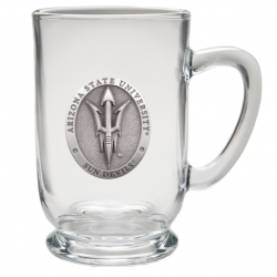"ASU ""Pitchfork"" Clear Coffee Cup"
