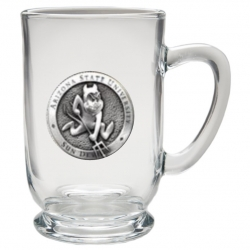 "ASU ""Sparky"" Clear Coffee Cup"