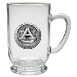 Auburn University Clear Coffee Cup